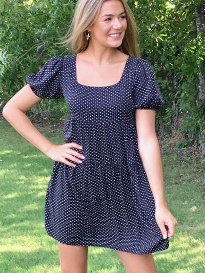 Do the Polka Dress-Women's -New Arrivals-Runway Seven - Women's Clothing Boutique