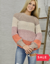 SALE: COZY COLORS SWEATER - ORIG $59