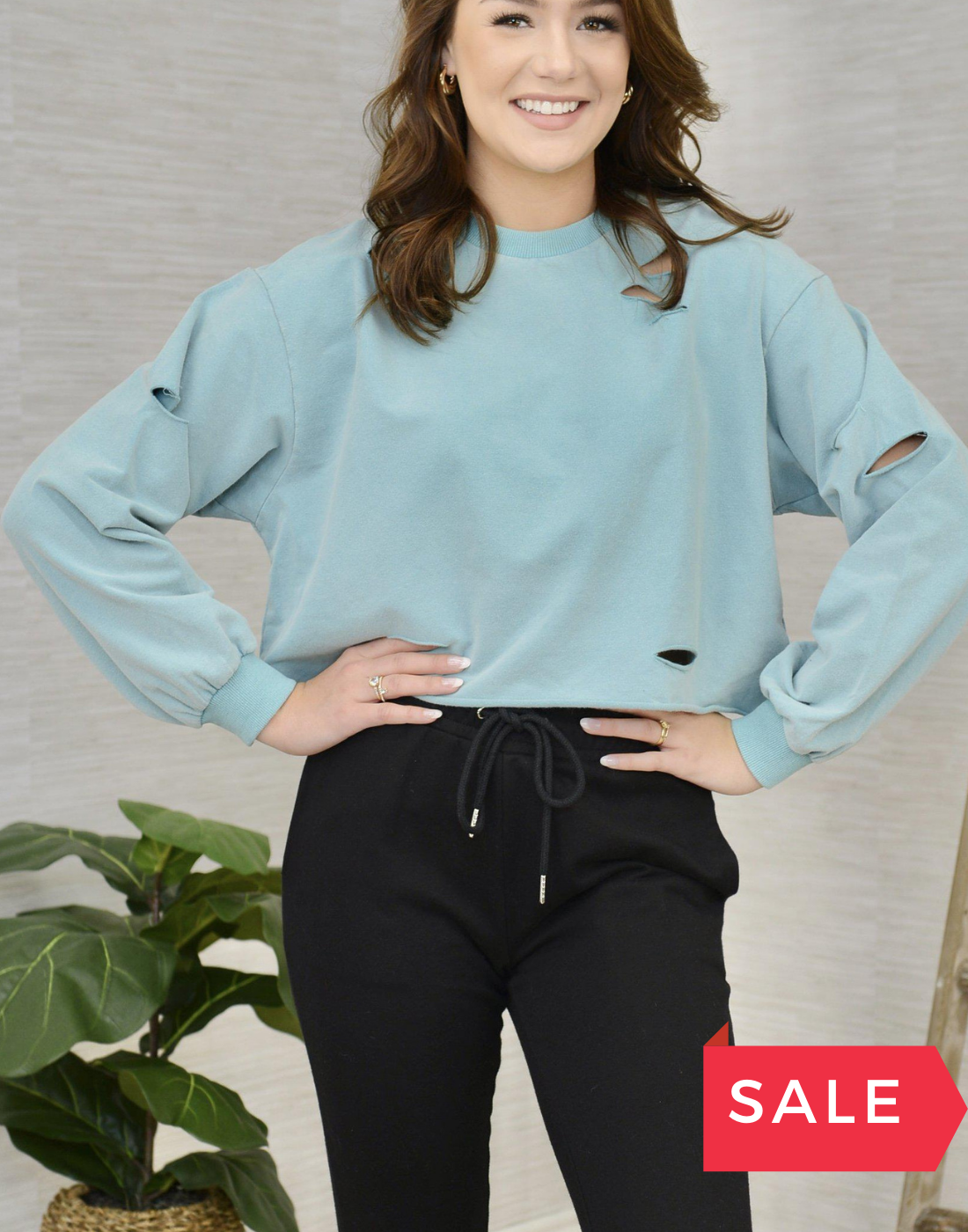 SALE: TOASTY AND COZY TOP - ORIG $49