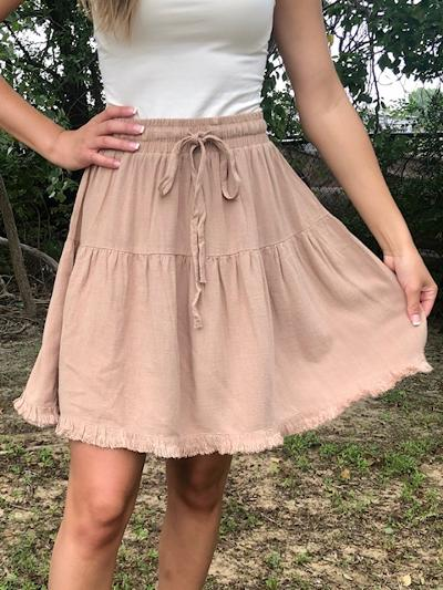 Sand Dune Skirt-Women's -New Arrivals-Runway Seven