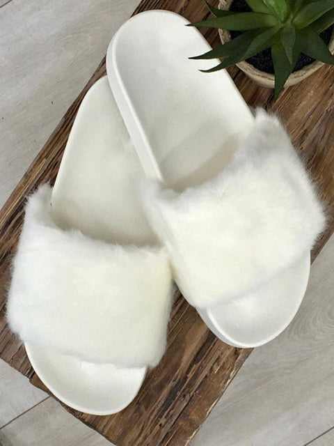 Snow Ballin' Slipper Shoe-Women's -New Arrivals-Runway Seven