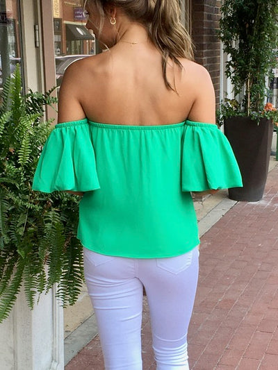 Spring is in the Air Top-Women's -New Arrivals-Runway Seven