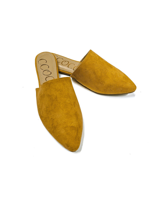 The Bethany-Mustard-Women's SHOES-New Arrivals-Runway Seven