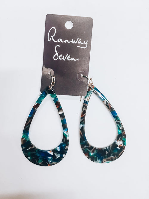 Marbled Days Earrings-Women's JEWELRY-New Arrivals-Runway Seven