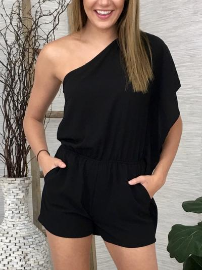 Anywhere You Go Romper-Women's -New Arrivals-Runway Seven