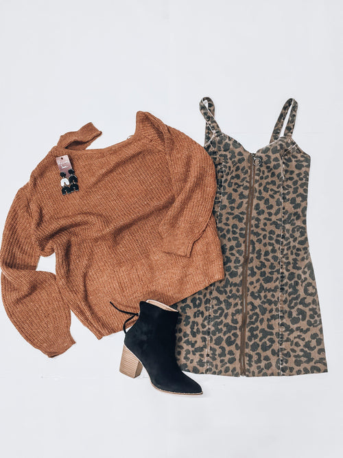 Sweet Caramel Sweater-Women's SWEATER-New Arrivals-Runway Seven