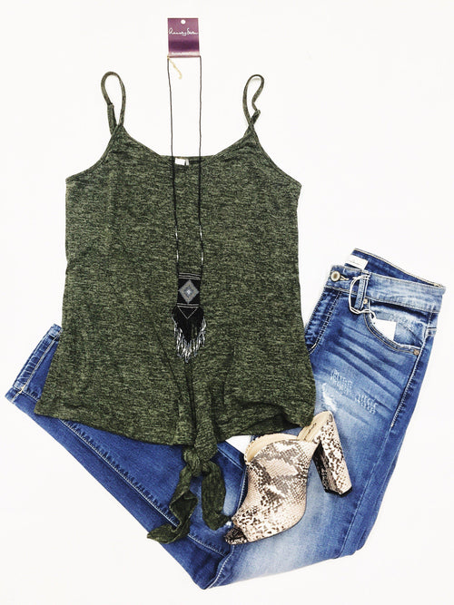 Holiday Olive Top-Women's TOP-New Arrivals-Runway Seven