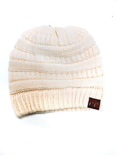 Original C.C. Beanie-Ivory-Women's Hat-New Arrivals-Runway Seven