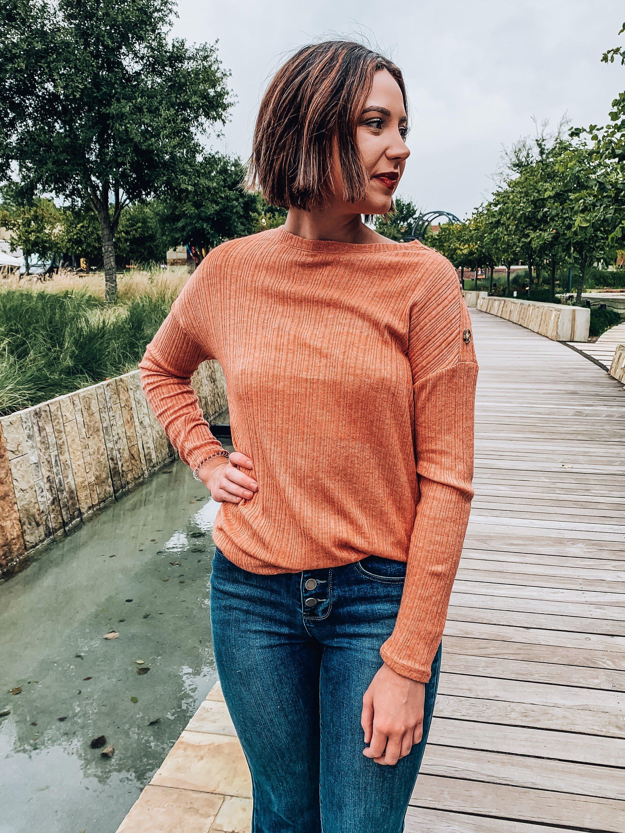 Hello Pumpkin Top-Women's TOP-New Arrivals-Runway Seven