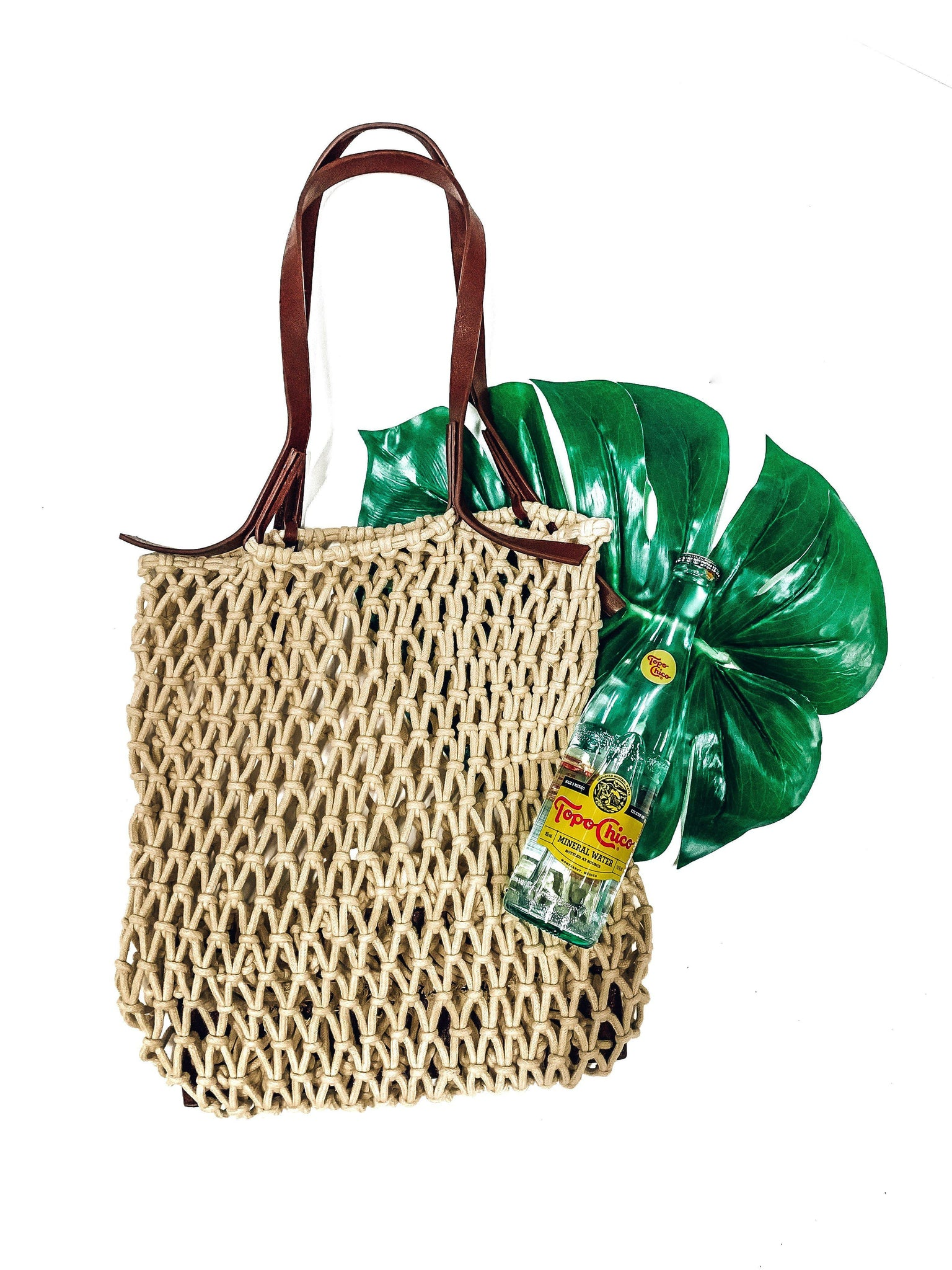 Beach Bound Bucket Bag