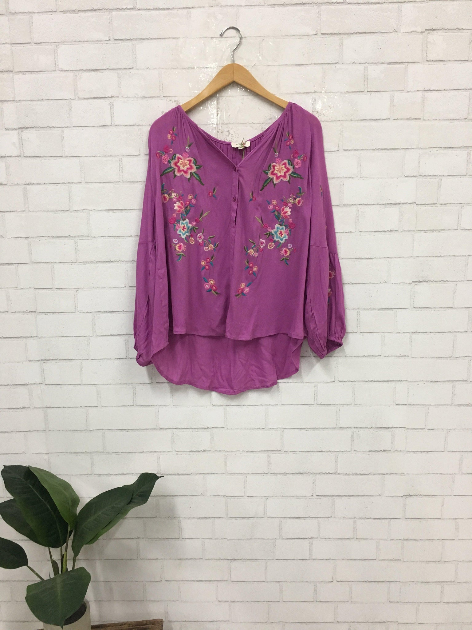 Embroidery Days Top