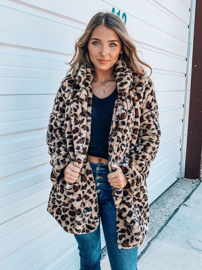After Party Faux Fur Coat-Women's TOP-New Arrivals-Runway Seven