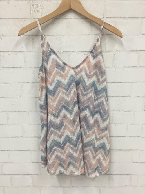 Watercolor Tank Top-Women's SALE-New Arrivals-Runway Seven