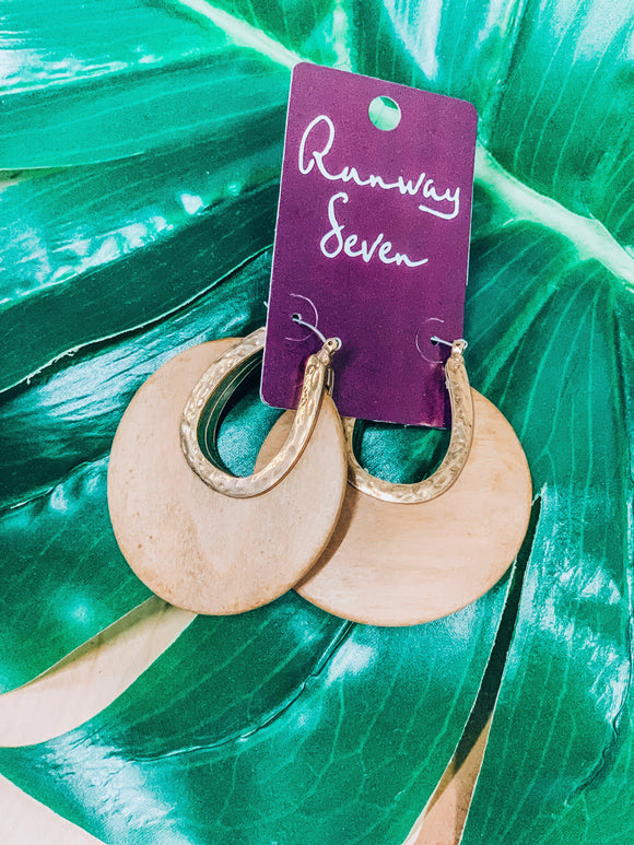 Wood You Rather Earrings-Women's JEWELRY-New Arrivals-Runway Seven