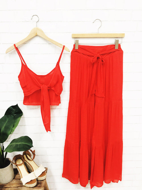 Hopeless Romantic Two-Piece Set-Women's Set-New Arrivals-Runway Seven