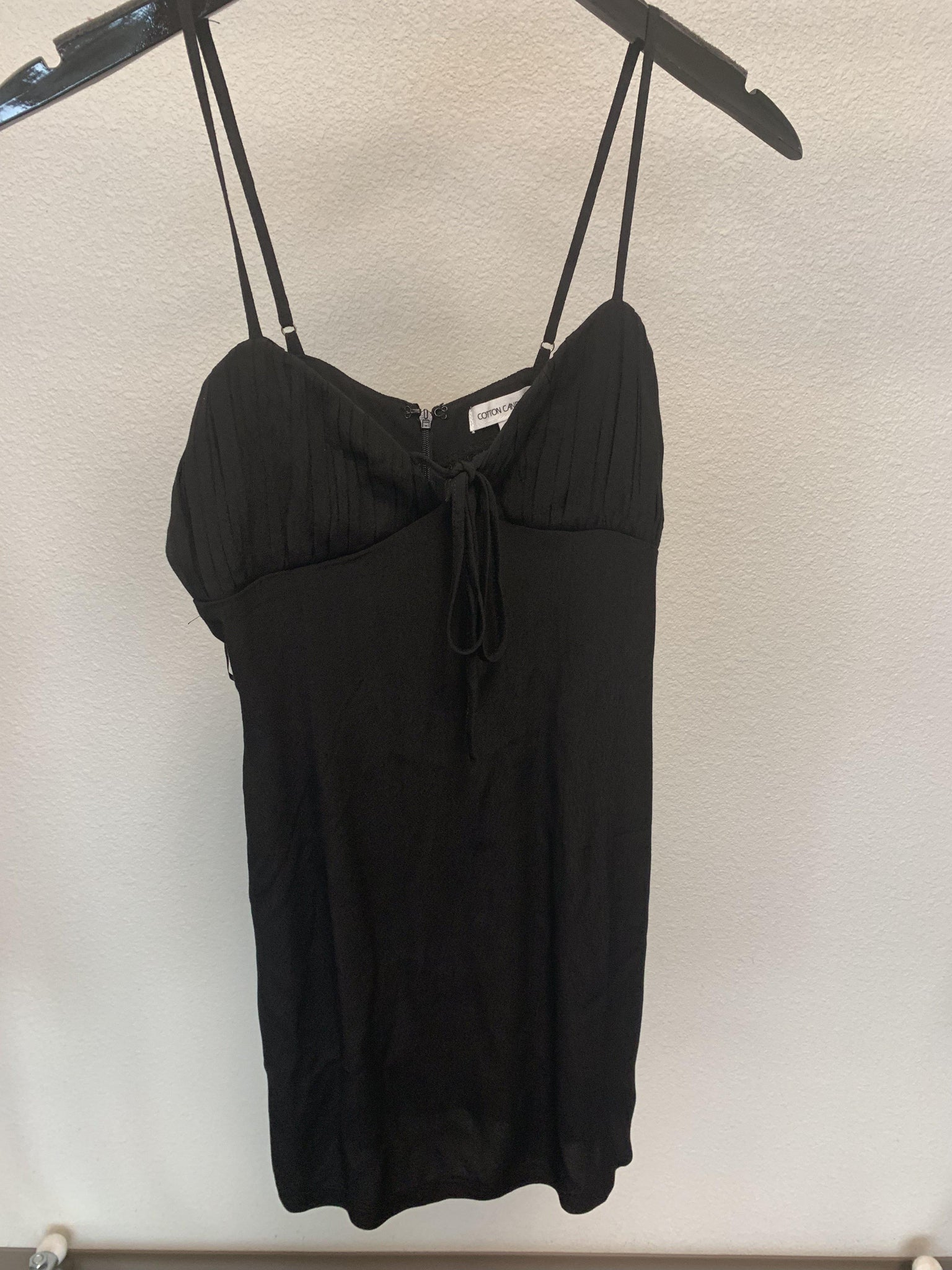 Hot Stuff Dress-Black