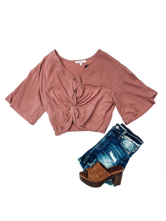 High Hopes Top- Mauve-Women's TOP-New Arrivals-Runway Seven