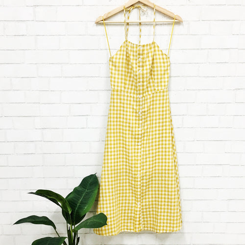 Under The Sun Gingham Dress-Women's TOP-New Arrivals-Runway Seven
