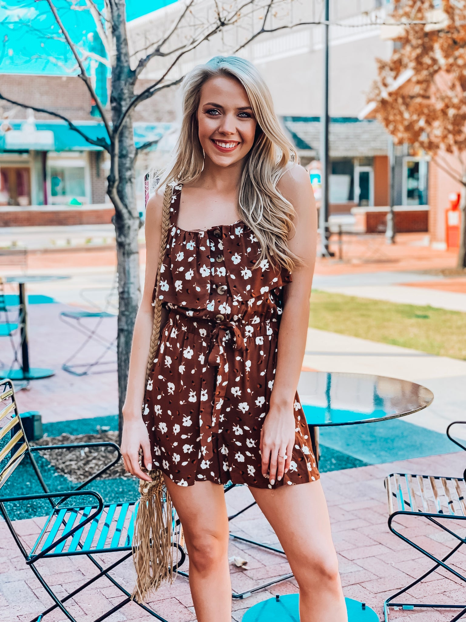 Along The Bay Romper