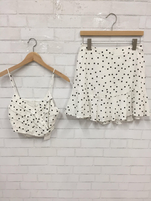 Dots Dots Dots Two-Piece Set-Women's SALE-New Arrivals-Runway Seven