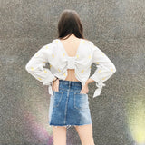 Simple Babe Denim Skirt