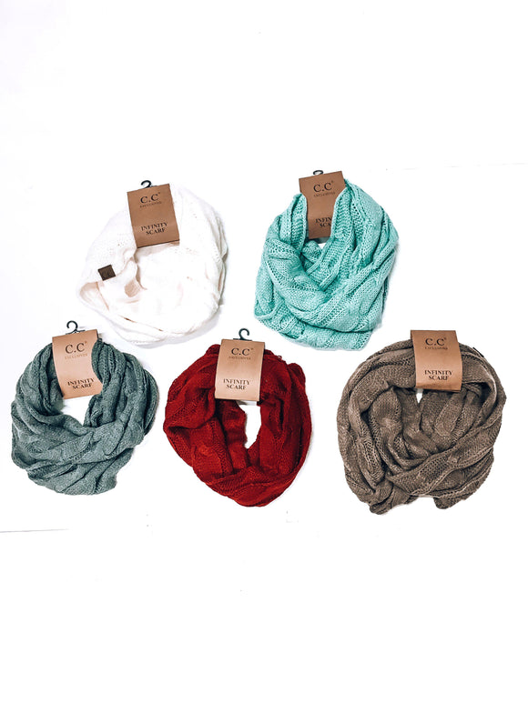 Forever & Always Infinity Scarf-Women's SCARVES-New Arrivals-Runway Seven