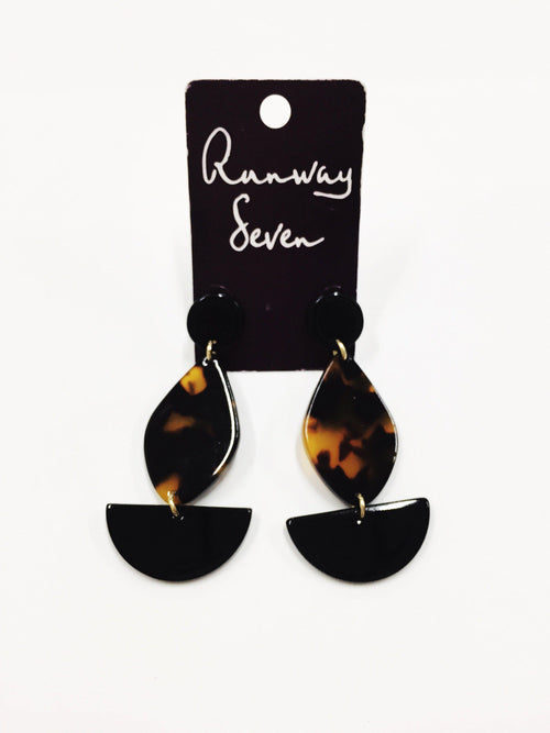 Simplistic Shapes Earrings-Women's JEWELRY-New Arrivals-Runway Seven