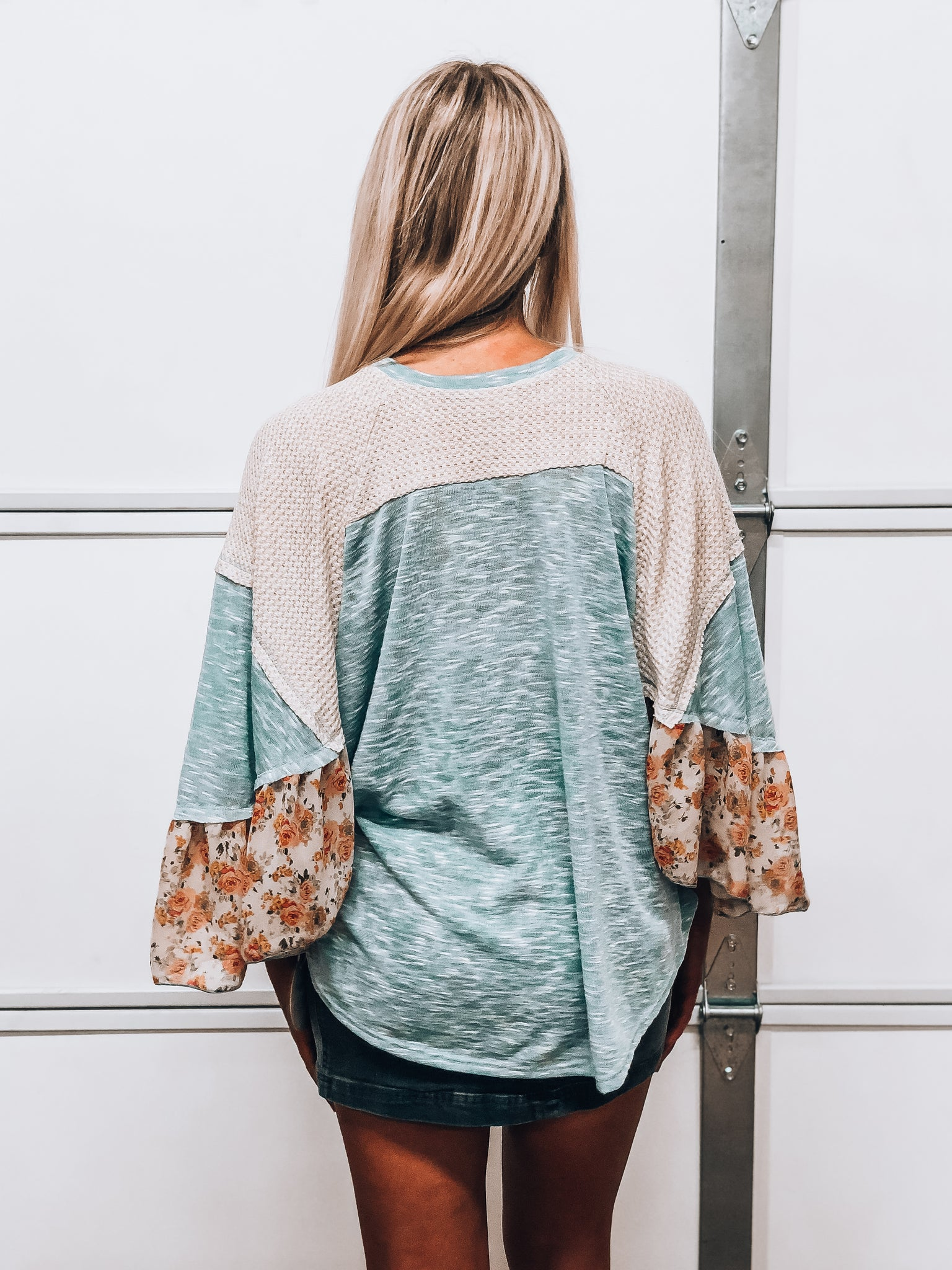 Blue Hues Top