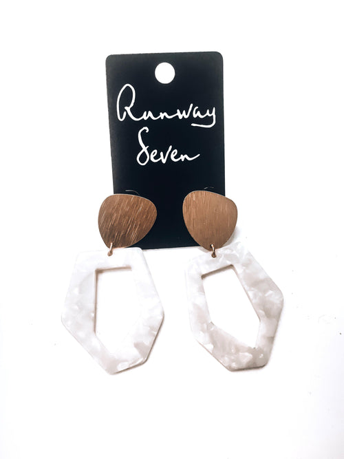 Classy Gal Earrings-Women's JEWELRY-New Arrivals-Runway Seven