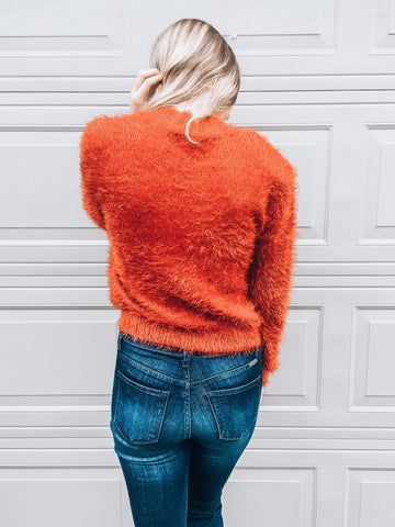 Warm & Cozy Sweater-Red