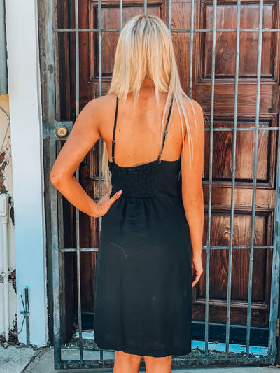 On My Way Dress-Black