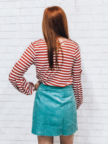 Striped State of Mind Top