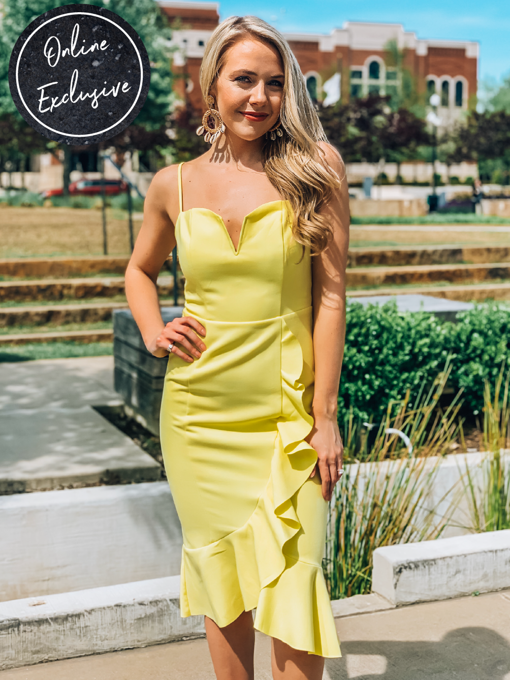 Online Exclusive: Sippin' Lemonade Dress