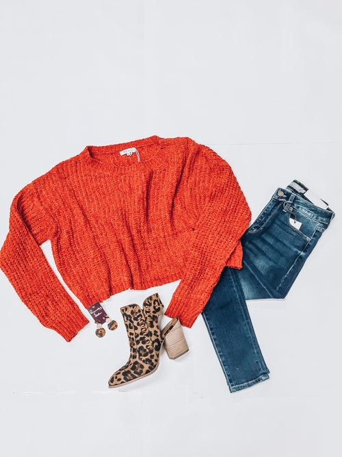 Red Hot Sweater-Women's SWEATER-New Arrivals-Runway Seven