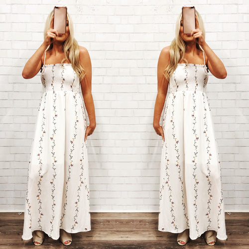 Gone With The Wind Maxi Dress-Women's DRESS-New Arrivals-Runway Seven