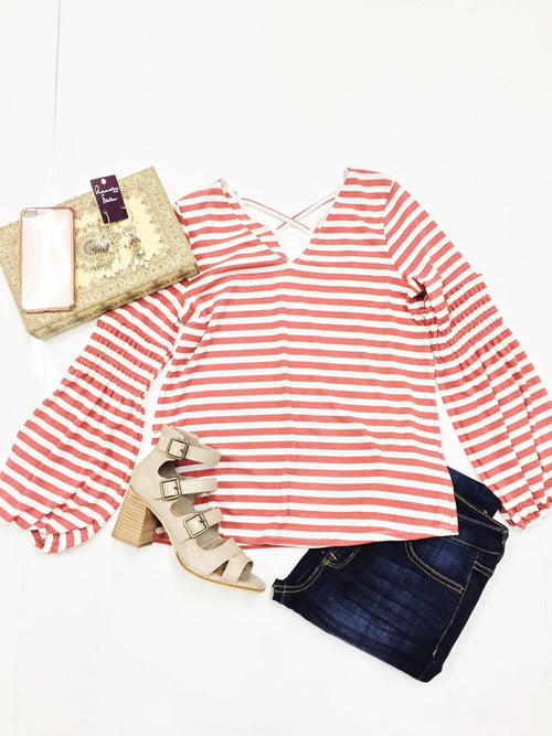 Striped State of Mind Top-Women's TOP-New Arrivals-Runway Seven