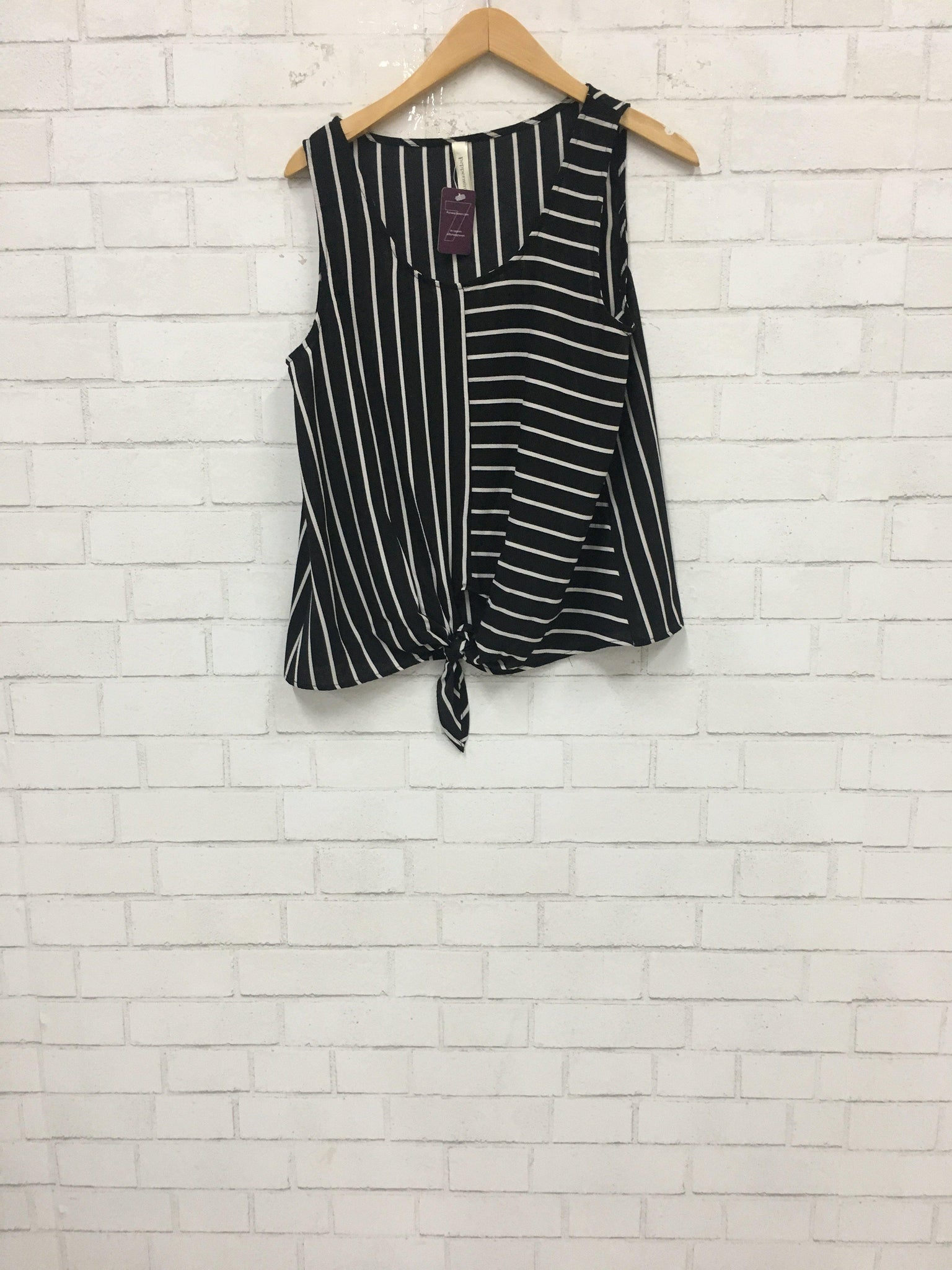 Picasso Stripe Top