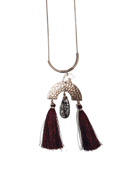 Coachella Forever Necklace-Women's ACCESSORIES-New Arrivals-Runway Seven