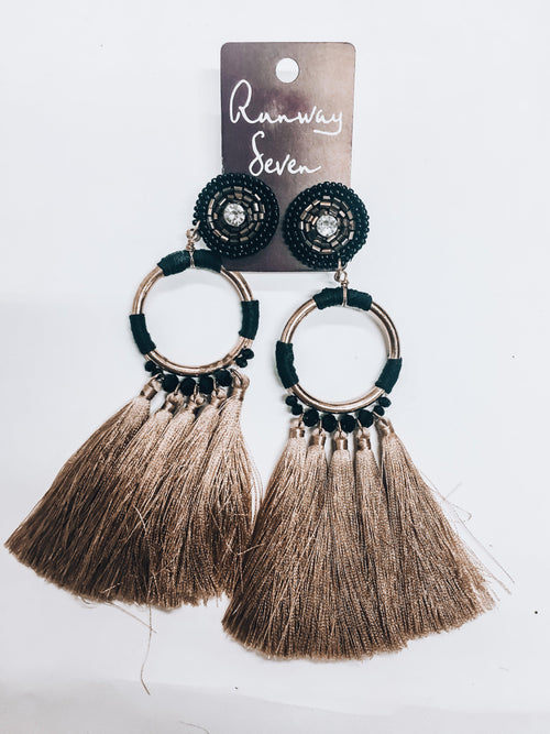Tribal Vibes Earrings-Women's JEWELRY-New Arrivals-Runway Seven