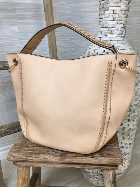 Better Beige Handbag-Women's -New Arrivals-Runway Seven