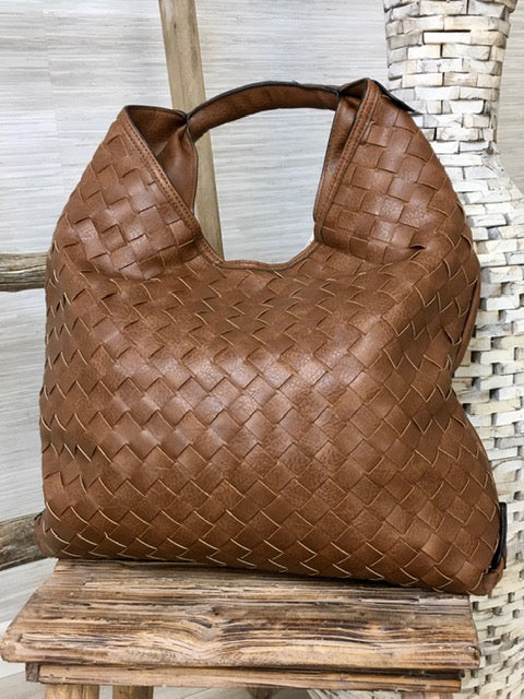 Woven For You Handbag-Women's -New Arrivals-Runway Seven