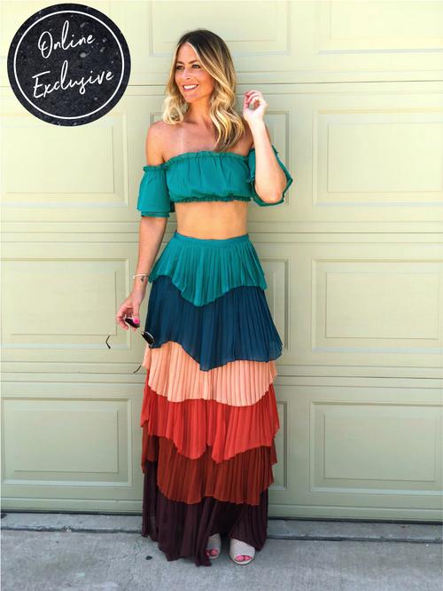 Online Exclusive: Cha Cha Cha Two-Piece Set-Women's Set-New Arrivals-Runway Seven
