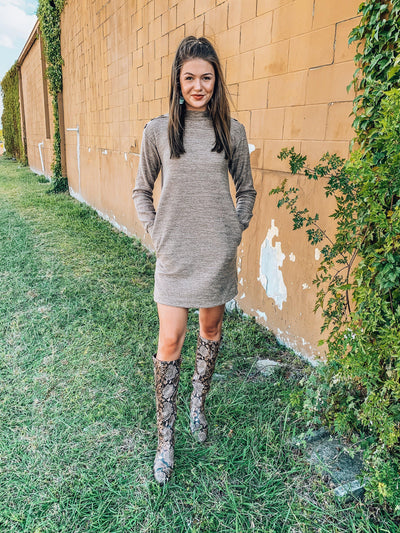 Stroll Along Sweater Dress-Women's DRESS-New Arrivals-Runway Seven