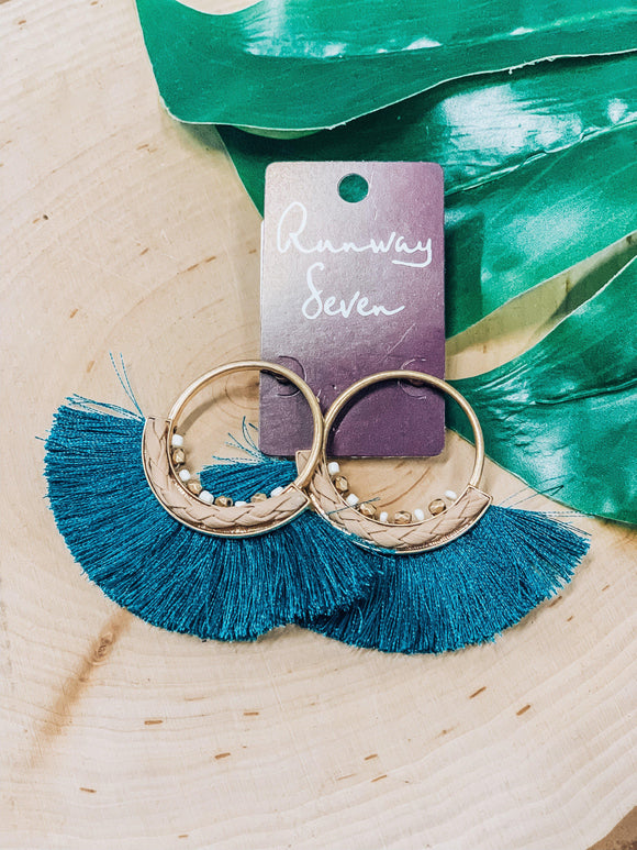 Ocean View Earrings-Women's JEWELRY-New Arrivals-Runway Seven