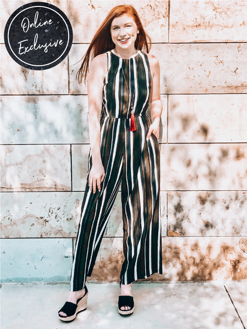 Online Exclusive: Going Places Jumpsuit-Women's ROMPER-New Arrivals-Runway Seven