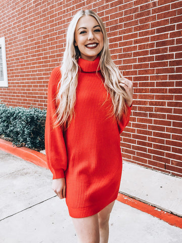 Very Merry Sweater Dress