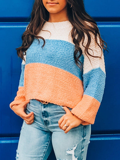 Sunset Horizon Sweater-Women's SWEATER-New Arrivals-Runway Seven
