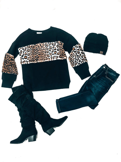 Hear Me Roar Sweater-Women's SWEATER-New Arrivals-Runway Seven