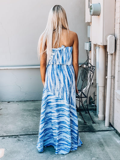 One With The Sea Maxi Dress-Women's DRESS-New Arrivals-Runway Seven