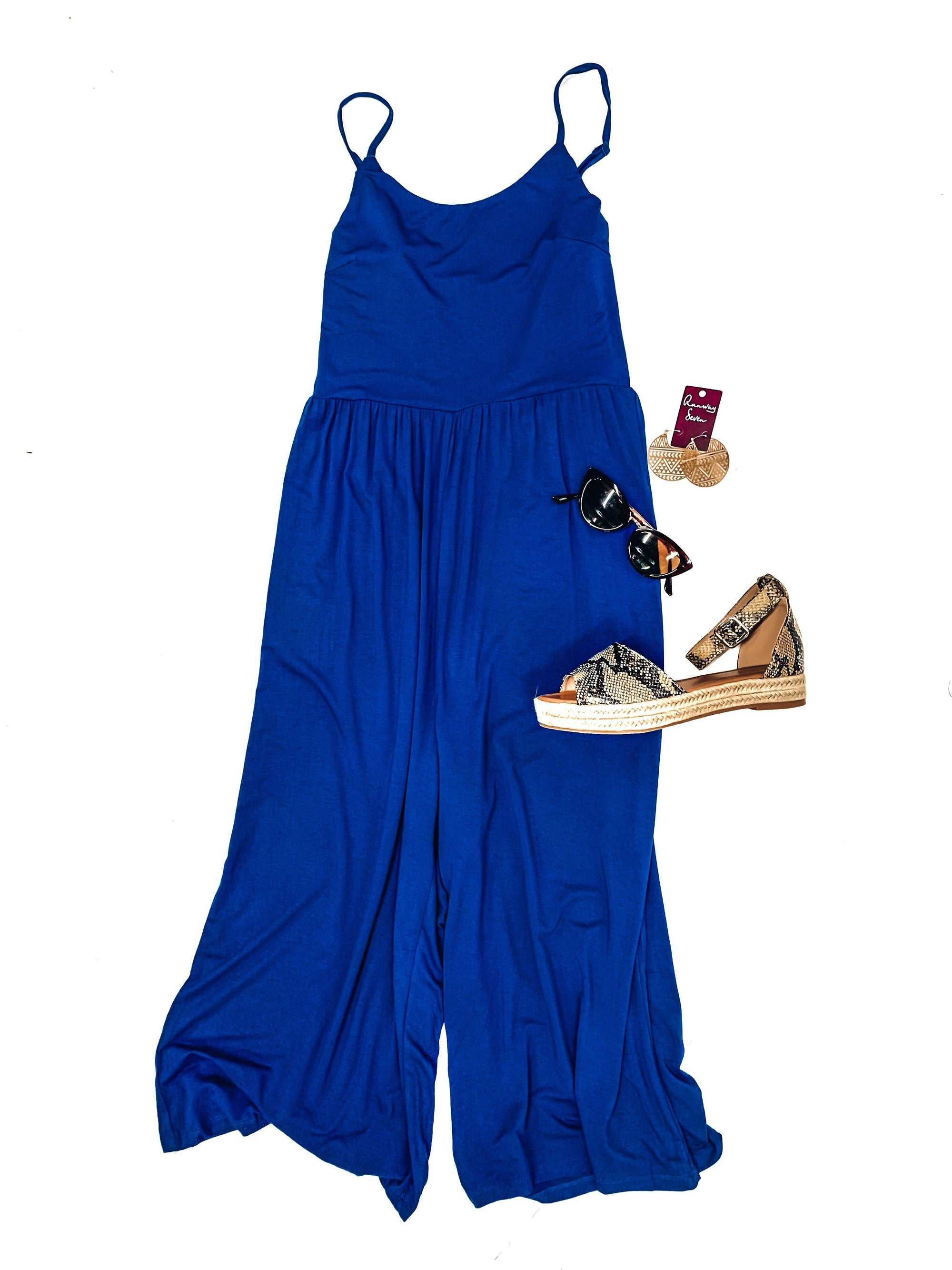Travel Buddy Jumpsuit-Women's ROMPER-New Arrivals-Runway Seven - Women's Clothing Boutique